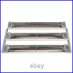 110V Baking Infrared 2X 3KW Paint Curing Lamp Heater Heating Light spray booth