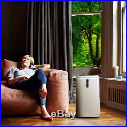12000 BTU Air Conditioner, Heater and Dehumidifier Rooms Up To 300 Square Feet