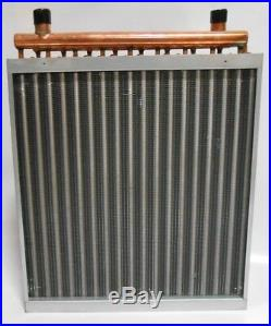 22x22 Water to Air Heat Exchanger Hot Water Coil Outdoor Wood Furnace