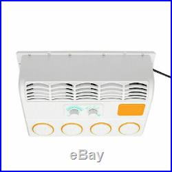 24V Portable Car Air Conditioner Wall-mount Cooling Fan For Truck Excavator US