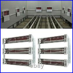 2X3000W Spray/Baking Infrared Paint Curing Lamp Heating New Booth Durable