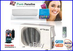 2 Ton Mini Split Ductless Air Conditioner Heat Pump Function with Smart Remote