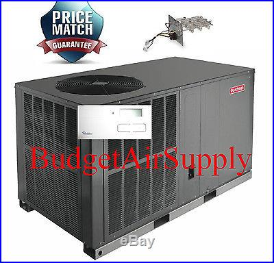 3 Ton 13 seer Goodman A/C/Electric Heat All in One Package unit GPC1336H41+Heat