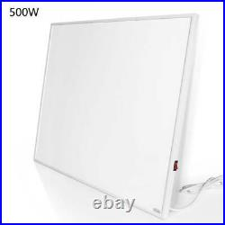 500W Far Infrared Heater Panel with switch Electric Wall Heating Panel