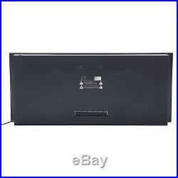 50 Built In Wall Mounted Electric Fireplace Heater Flame Log with Remote Control