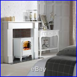 Dimplex Courchevel 2kW Portable Electric Fireplace Heater/Heating Flame Effect