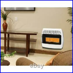 Dyna-Glo Space Heater 30,000 BTU Infrared Unvented Liquid Propane Gas Wall Mount