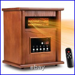 Electric Portable Infrared Space Cabinet Heater for Indoor Remote Control Room