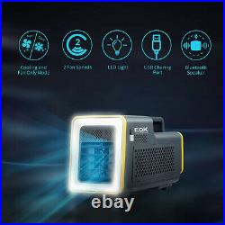 Emerson Quiet Portable Camping Air Conditioner with LED Light and Bluetooth Spea