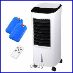 Evaporative Air Cooler Humidifier Remote Control Ice Pack Energy Saving Indoor