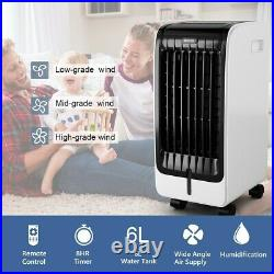 Evaporative Portable Air Conditioner Cooler Fan Home Room with Remote Control
