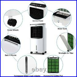 Evaporative Portable Air Conditioner Cooler Fan Personal Space Home Air Cooling