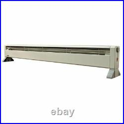 Fahrenheat FHP1500T 58 120-V 1500-W Hydronic Baseboard Electric Heater, White