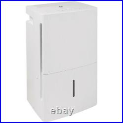 GE ADEL50LW Portable Home Dehumidifier, 50 Pints, White (Certified Refurbished)