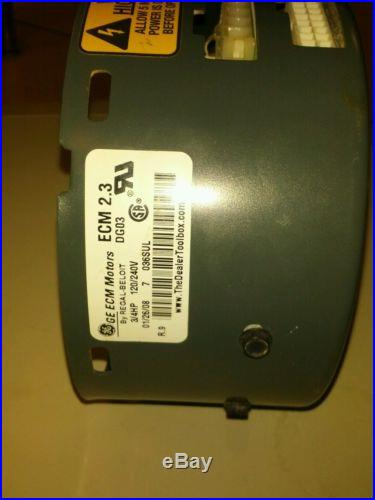 GE ECM blower motor module Trane and others CCW rotation