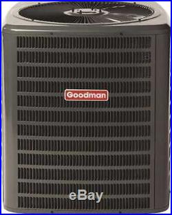 Goodman GSC130361-DOE 3 Ton 13 SEER R-22 Air Conditioner Condenser Dry Charged