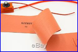 Keenovo 6X36 220V Guitar Side Bending Silicone Heat Blanket withController 200C