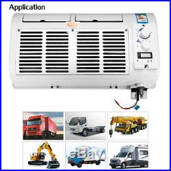 Mini 12V/24V 100W Car Truck Air Conditioner Cooling Fan Wall-mounted Evaporator