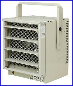 NewAir Garage Heater Industrial Electric Wall Mount Included G73 Ivory