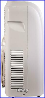 Portable Air Conditioner 10000 BTU with Remote Control White Timer Sleep Mode
