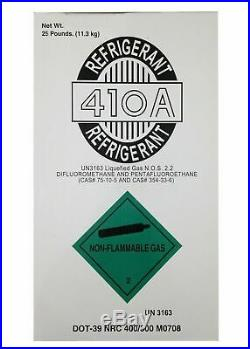 R410a, R-410A Refrigerant 25lb tank. New Factory Sealed Lowest Price on Ebay