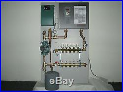 Radiant Heat Panel System (VERTICAL 5-ZONE) with Electric Heater