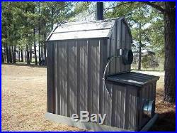 Thermowind WaterLess Wood Outdoor Burner Furnace Forced Air No RUST