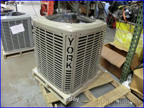 York LX Series 13 SEER 1.5 Ton 1-Phase R410A A/C Condensing Unit YCJD18S41S1EA